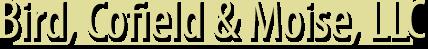 Bird, Cofield & Moise, LLC logo